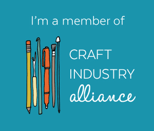 I'm a member of Craft Industry Alliance