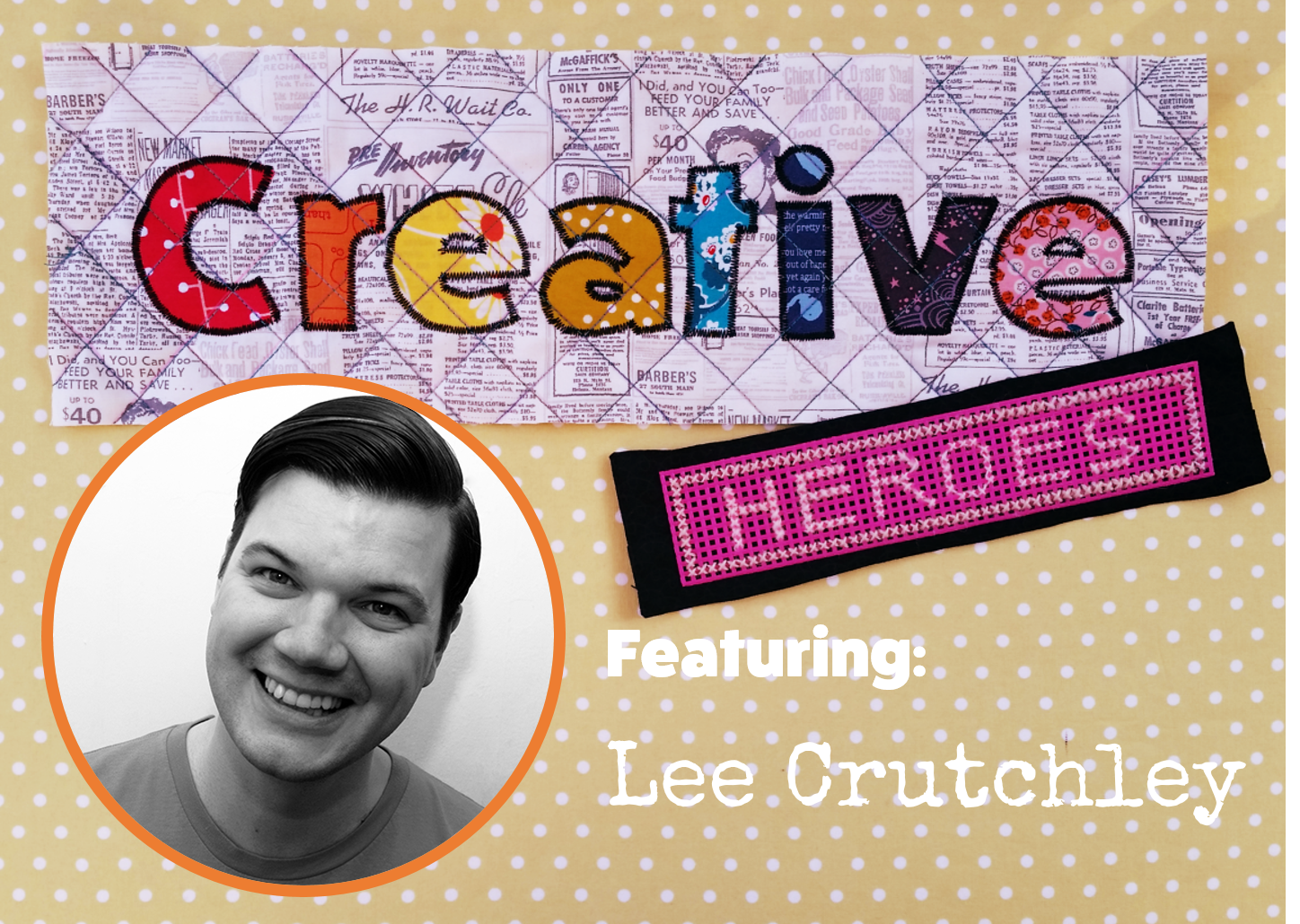 Creative Hero: Lee Crutchley | www.creativeandmindful.com